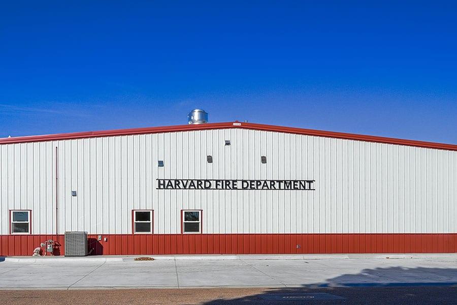 Harvard Fire Hall front exterior