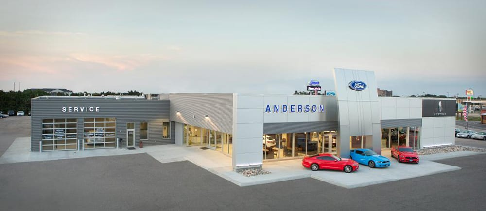 Anderson Ford Exterior