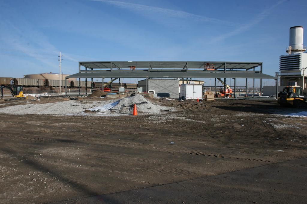 Burdick Station Construction Site