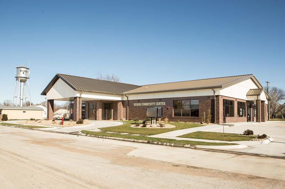 Byron Community Center Exterior