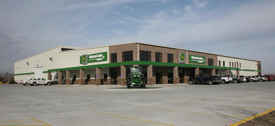 Green Line Equipment Exterior