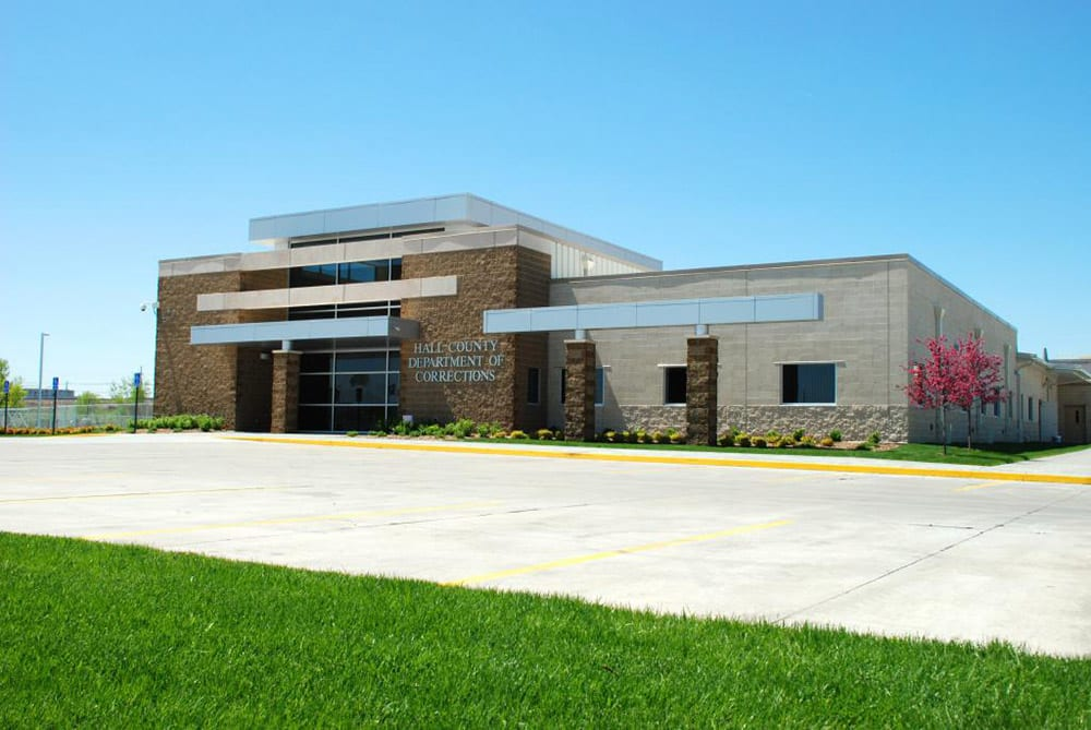 Hall County Department of Corrections Exterior