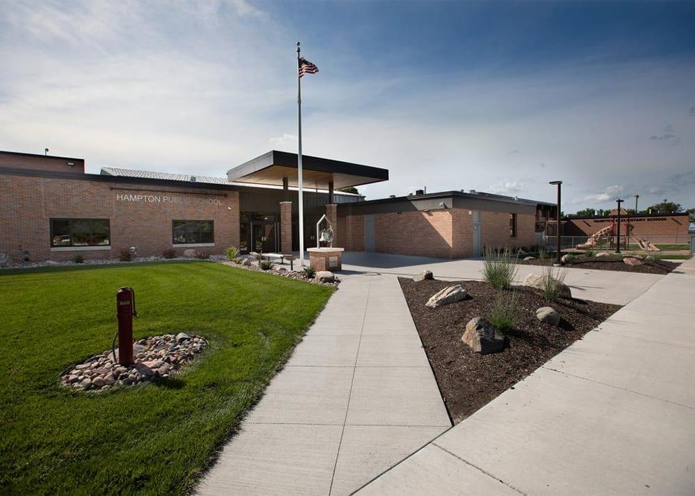 Hampton Public School Entryway