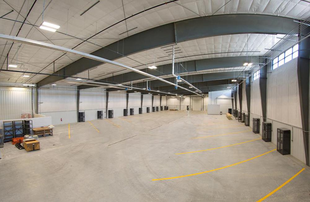 Norris Public Power Indoor Parking Garage