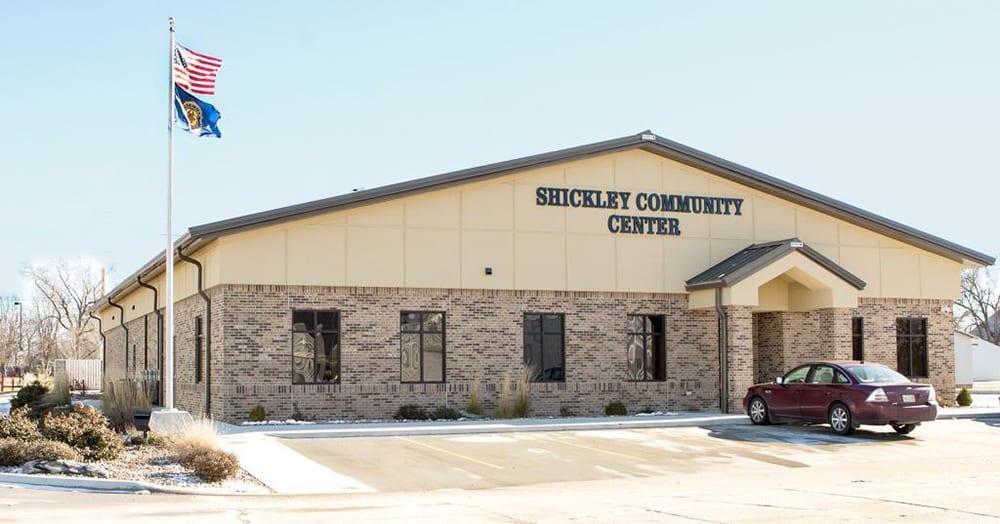 Shickley Community Center Exterior