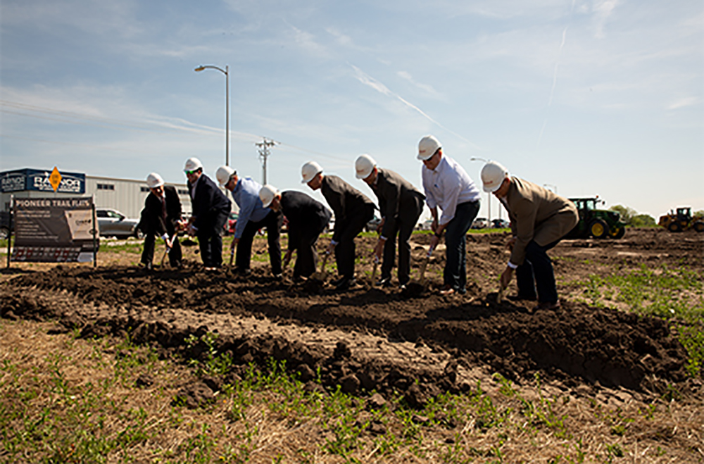 Chief Construction Breaks Ground at Pioneer Trail Flats